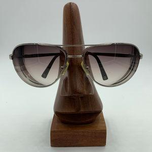 Coach Silver Metal Aviator Sunglasses Frames